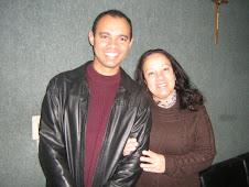 Hilton e Salete Barbosa na Radio Imembuí