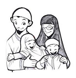 A Muslim family (click on the pic to learn more)