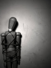 trapped...