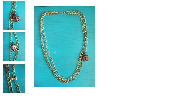 """Alice Necklace"" ~ $60"