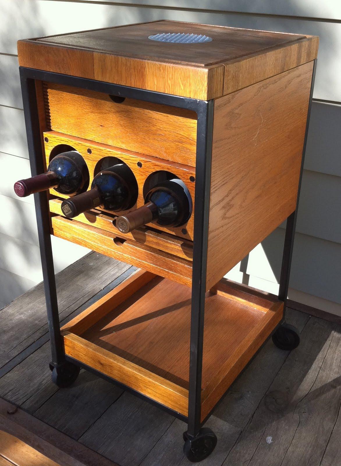 farmfreshkc butcher block wine rack 100