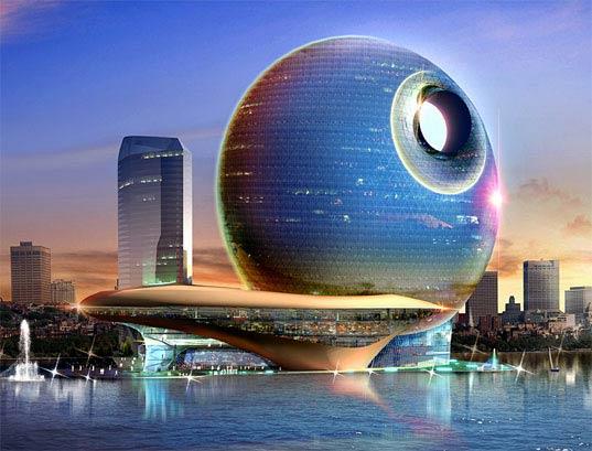 Death Star Lunar Hotel Baku