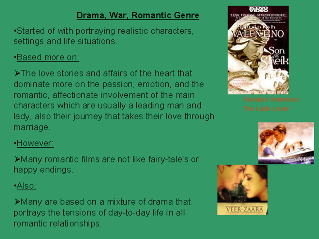 an analysis of the romance and drama books Literature whether you're researching the great books or looking to write the next one yourself, these resources and guides will help you discover the best of the written word.