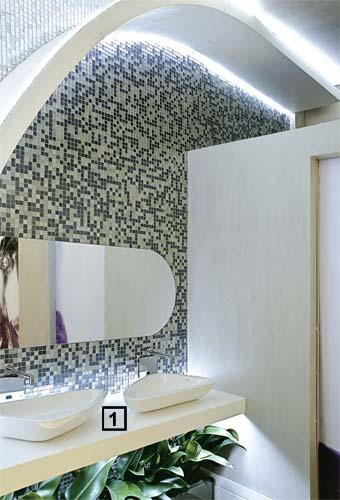BACCARI INTERIOR DESIGN Maio 2010 -> Banheiro Feminino Outback