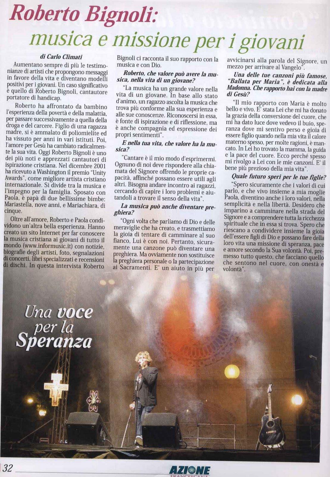 L'AZIONE FOGGIA 2007