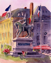 La place Jeanne d&#39;arc
