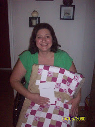 The Quilt Winner, Liz and her book