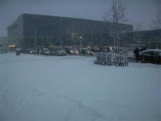 Nevando en Londres