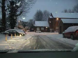 Nieve en Harrow