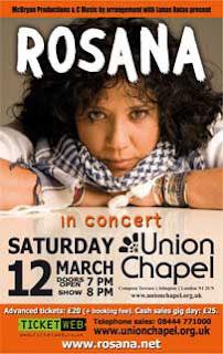 Rosana en concierto - Londres