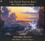 Bach CPE - Solo a Viola di Gamba con Basso - Heumann, Nasillo, Borner (Ape)