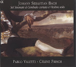 Bach JS - 6 Sonatas for Cembalo and Violin Solo - Frisch, Valetti (flac)