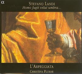 Stefano Landi - Homo fugit velut umbra - L'arpeggiata (Ape)