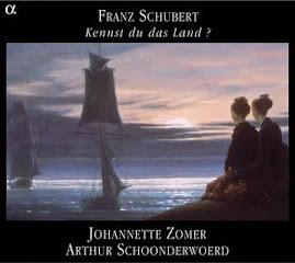 Schubert - Kennst du das Land - Johannette Zomer, Arthur Schoonderwoerd (ape)