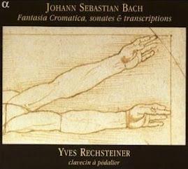 Bach JS - Fantasia Cromatica, sonates & transcriptions - Rechsteiner (Ape)