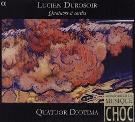 Lucien Durosoir - Quatuors à cordes - Quatuor Diotima (Ape)