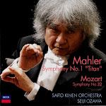 Ozawa, Saito Kinen Orchestra - Mahler Sym 1, Mozart Sym 32 (flac)