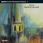 Reger - Bach Piano Transcriptions Vol.7 - Markus Becker 2CD (Ape)