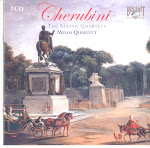 Cherubini - Die Streichquartette - Melos Quartett (flac)