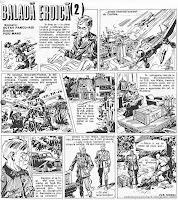 bd benzi desenate desene revista cutezatorii balada eroica puiu manu octav pancu iasi comics romania razboi mondial al doilea comics romania wwii