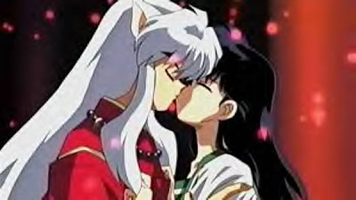 inuyasha and kagome kiss Number 8 Club