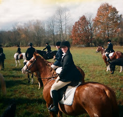 Eventers + Fox Hunting = so much fun!