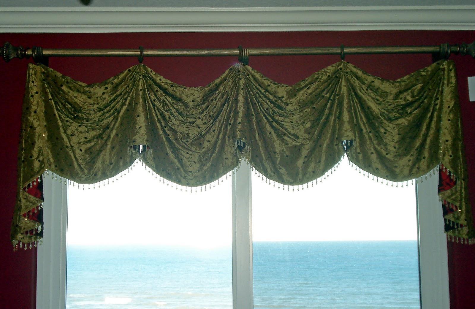 Custom Window Treatments: Custom Valances