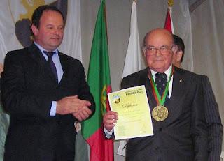 João Pires, sócio nº 1 e antigo Presidente do clube