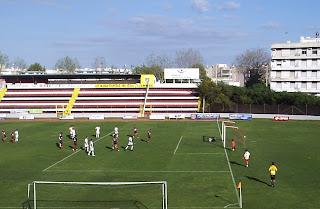 A grande penalidade que daria o golo do empate ao Olhanense
