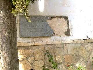 Homenagem a Luís Gordinho Moreira vandalizada