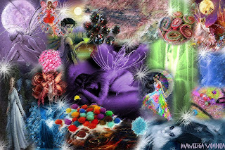 felt fairies mood board manteiga voadora