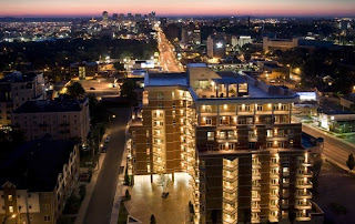 The West End condo building in Nashville