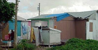 shack in third world country