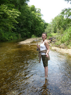 Peter 39 s fly fishing adventures the search for iowa trout for Fly fishing iowa