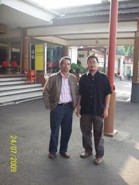 Bersama Rakan Penulis Samsudin Wahab