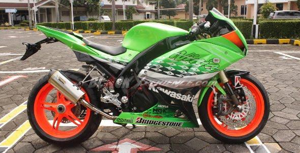 Image Modification Ninja 250cc