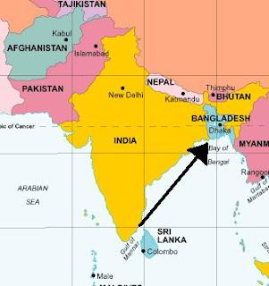 hvor ligger bangladesh