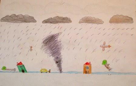 LA RANA GALANA DIBUJOS SOBRE LOS PRINCIPALES DESASTRES NATURALES