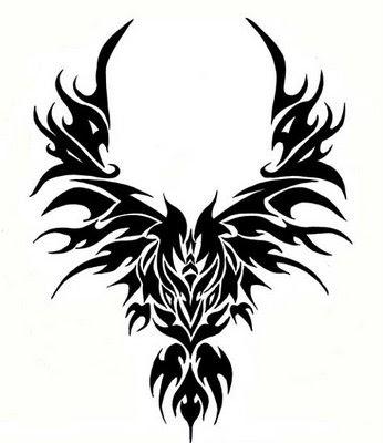 tribal Tattoo phoenix