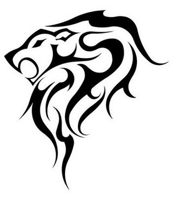 lions tattoo. cross tattoo designs 2