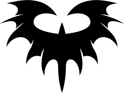 design bat tattoo