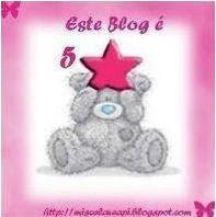 prémio blog 5 estrelas