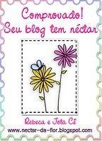 selo blog com néctar!