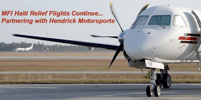 Hendrick Motors of Charlotte: Hendrick lends plane to Haiti relief ...