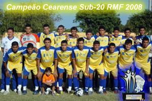 >Horizonte Sub-20 - Campeão Cearense Sub-20 RMF 2008