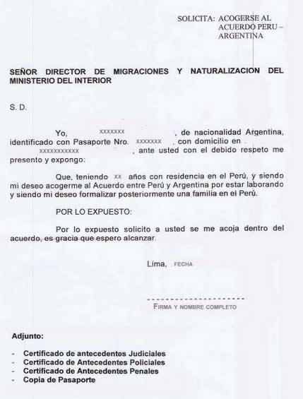 Carta laboral personal - Imagui