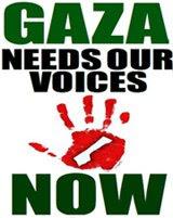 Solidarieta' con la Palestina, Stop alla strage!
