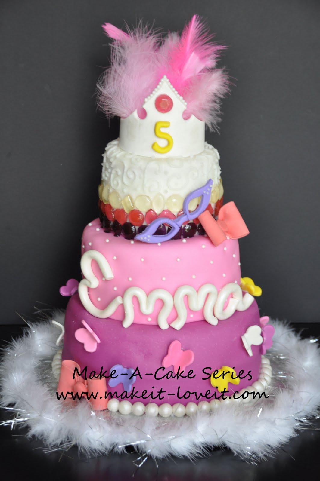 Make-a-Cake Series: Sugar Gems – Make It and Love It