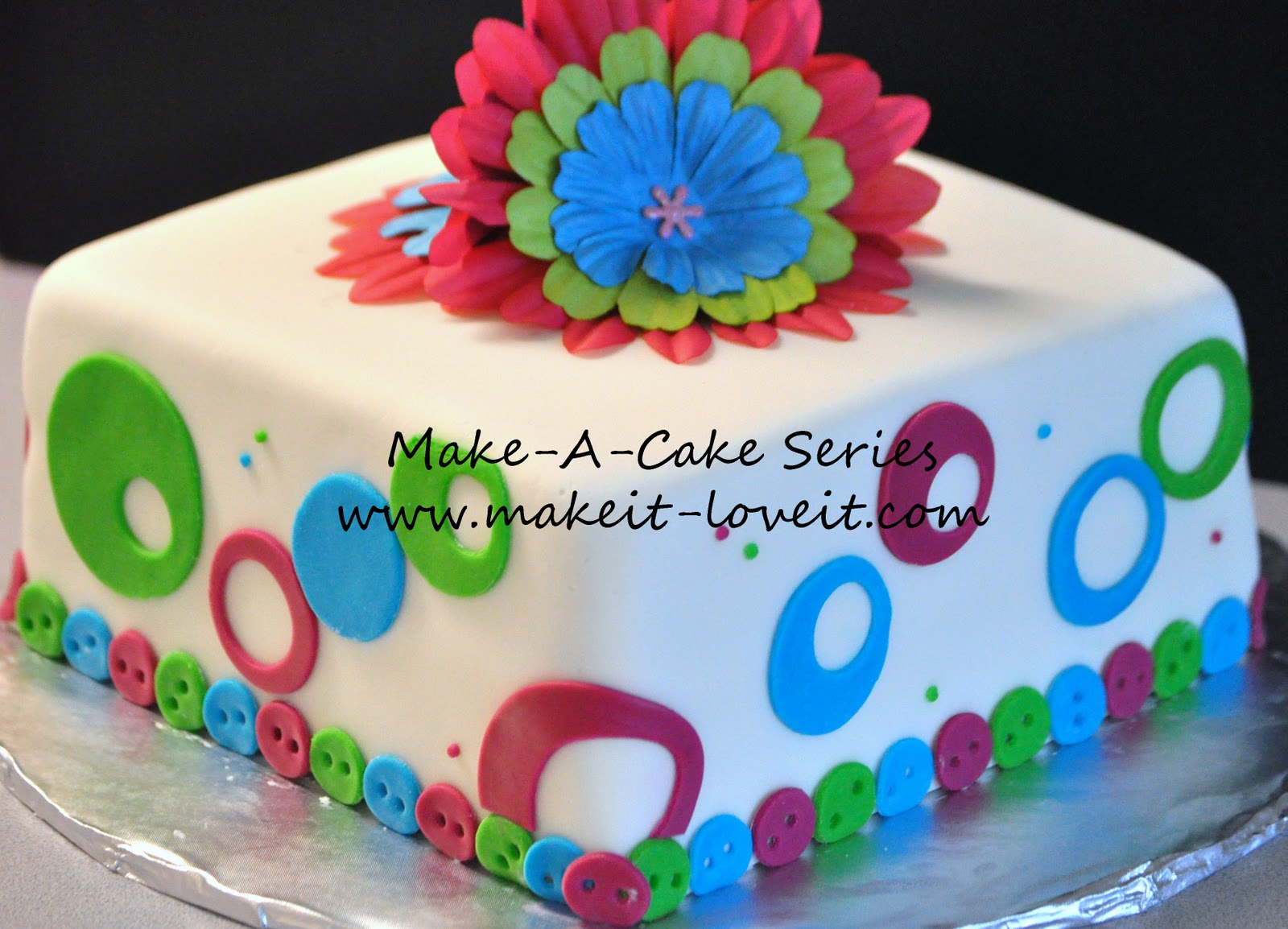 Make A Cake Series Borders Make It And Love It