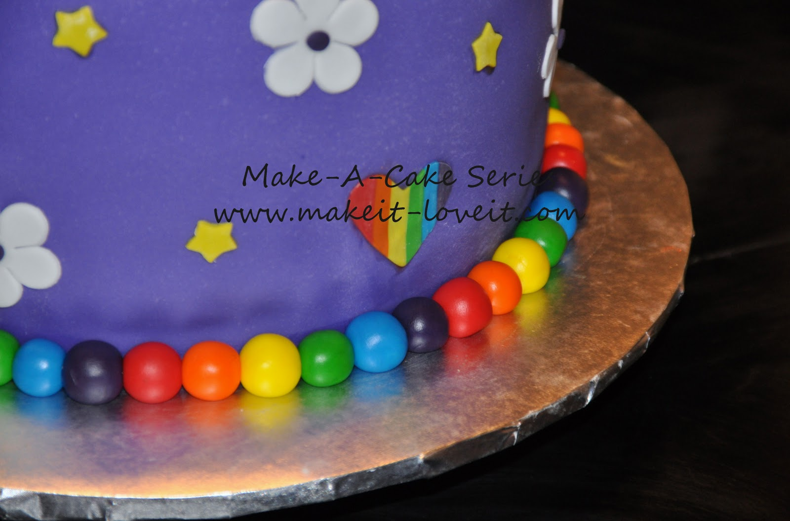 Make A Cake Series My Little Pony Cake And Rainbow Cookies Make